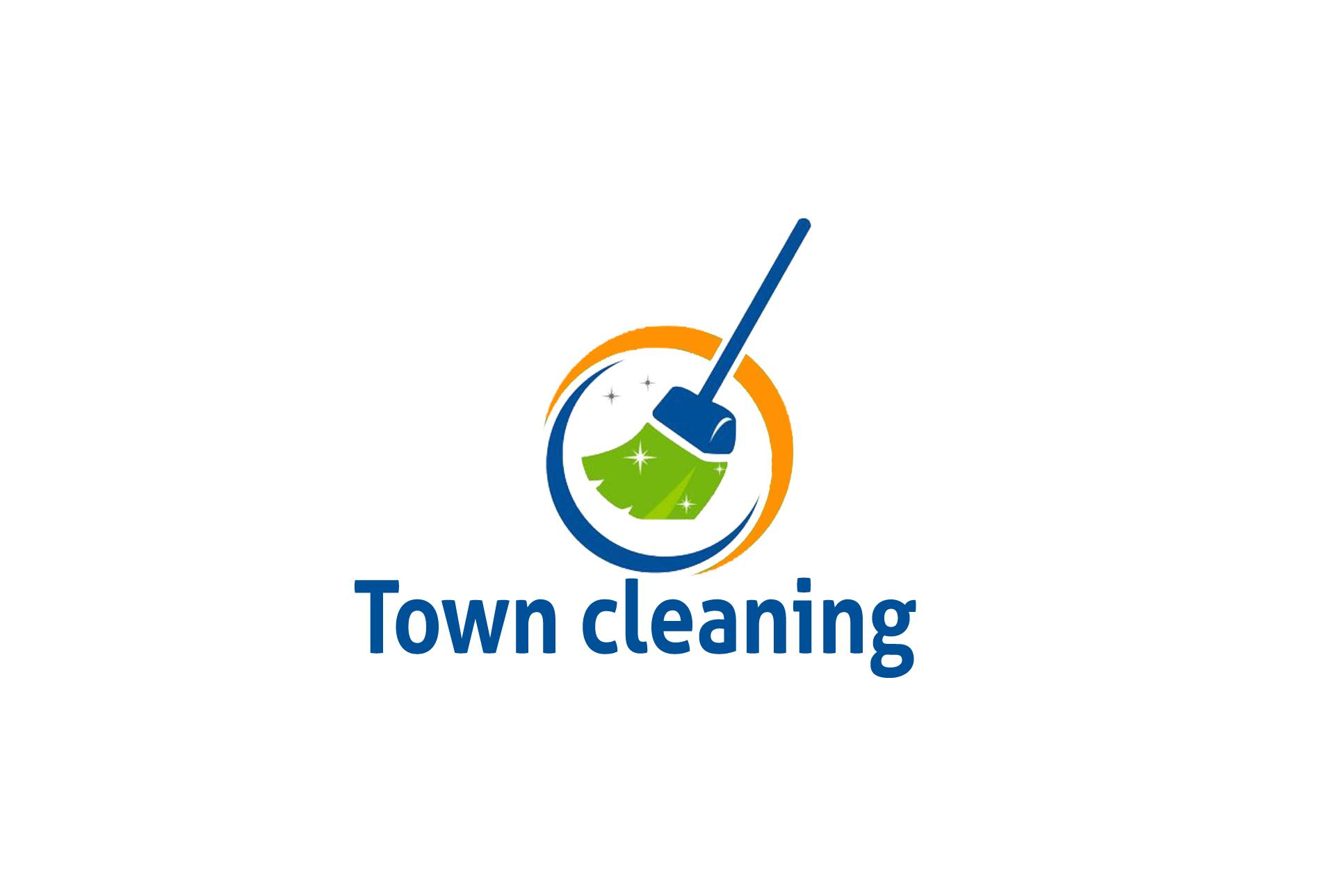 Town Cleaning  logo