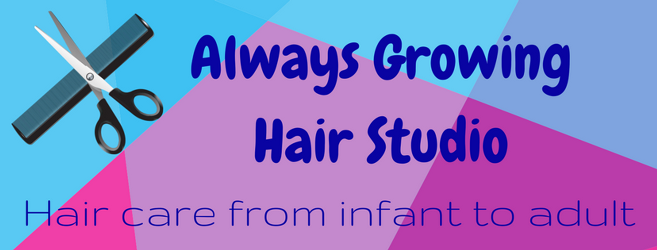 Always Growing Hair Studio logo