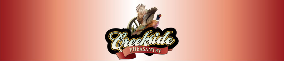 Creekside Pheasantry logo
